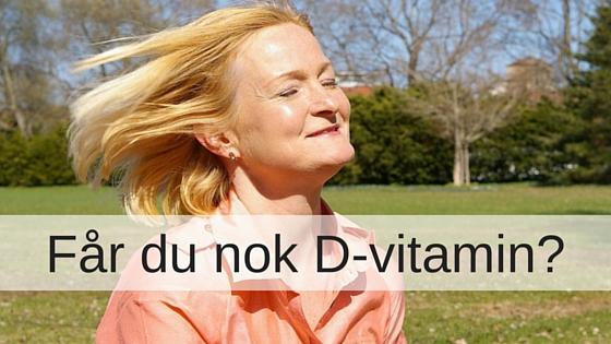 vitamin test hos lægen