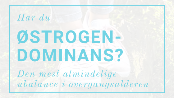 Østrogendominans I Overgangsalderen